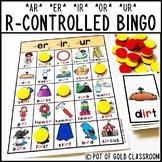 R Controlled Vowel Word Cards and BINGO Games