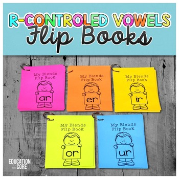 R-Controlled Vowels Flip Books