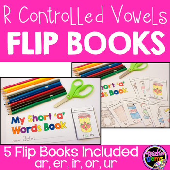 R Controlled Vowels Flip Books
