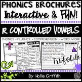 R Controlled Vowels Fluency Passages and Word Work - Phonics Brochures