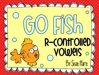 R-Controlled Vowels {Go Fish} Word Work [Reading] Station
