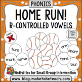 R-Controlled Vowels - Home Run!