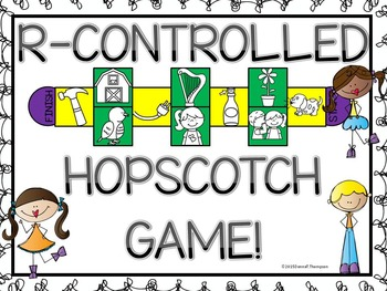 Phonics: R-Controlled Vowels (Hopscotch Game)