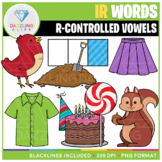 R-Controlled Vowels: IR Words Clip Art