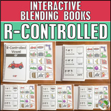 R-Controlled Vowels Interactive Blending Books (6 Books) - Adapted Books