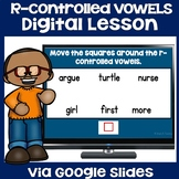 Activities for R-Controlled Vowels - Lesson