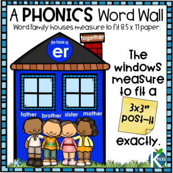 R-Controlled Vowels Interactive Phonics Word Wall