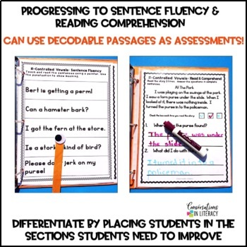 R-Controlled Vowels Intervention Binder