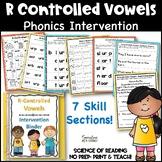 Reading Intervention Binder:  R-Controlled Vowels