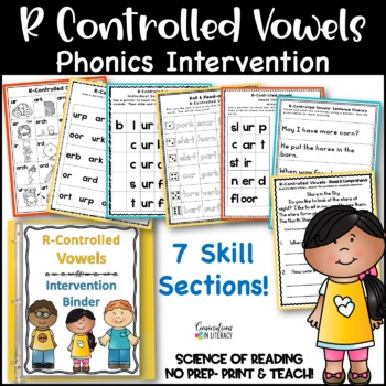 Reading Intervention Binder:  R-Controlled Vowels