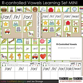 R-Controlled Vowels Learning MINI Set