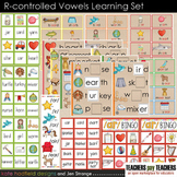 R-Controlled Vowels Learning Set - 10 items for spelling a