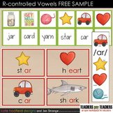 R-Controlled Vowels Learning Set - FREE SAMPLE