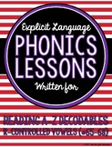 R-Controlled Vowels Lessons for Reading A-Z Decodable Books #65-68