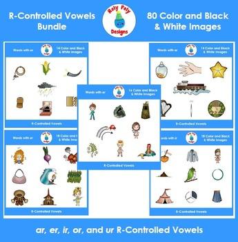 R-Controlled Vowels MEGA Bundle (ar, er, ir, or, and ur) b