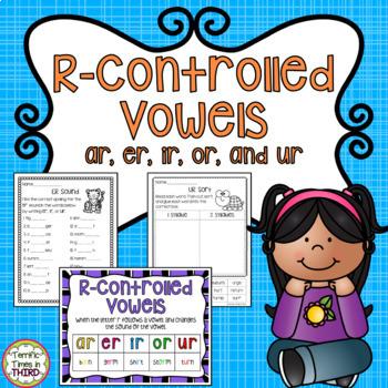 R-Controlled Vowels (No Prep Printables)