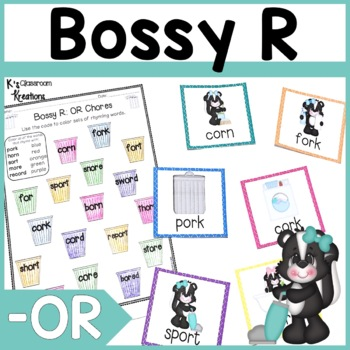 R Controlled Vowels Card Game