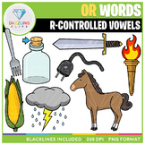R-Controlled Vowels: OR Words Clip Art