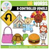 R-Controlled Vowels: UR Words Clip Art