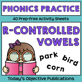R Controlled Vowels Phonics Activities