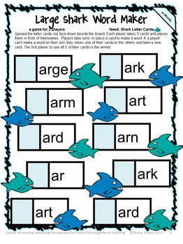 R Controlled Vowels Games Phonics Games With Ar Er Ir