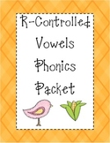 R-Controlled Vowels Phonics Packet