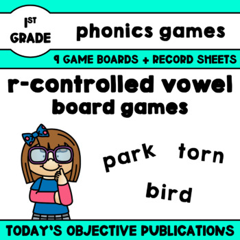 R Controlled Vowels Game Phonics