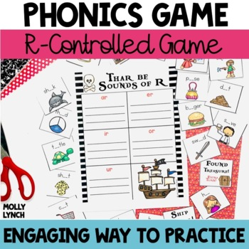 R Controlled Vowels Pirate Game