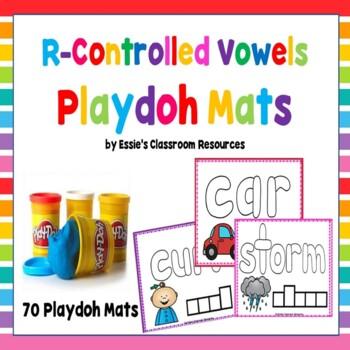 R Controlled Vowels Playdoh Mats