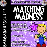 R Controlled Vowels: Posters & Matching Game Cards!