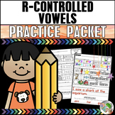 R-Controlled Vowels Practice Packet