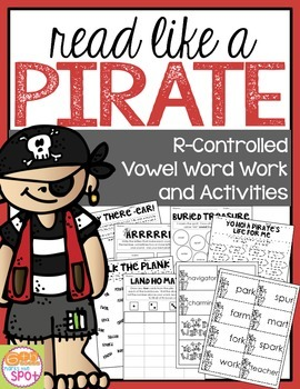 R Controlled Vowels: Read Like a Pirate!