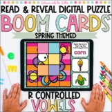 R Controlled Vowels Read and Reveal Digital Puzzle | Boom Cards™