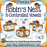 R-Controlled Vowels - Robin's Nest