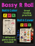 Bossy R Word Roll (R Controlled Vowels Centers)
