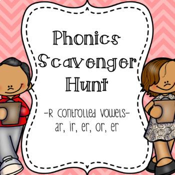 R-Controlled Vowels Scavenger Hunt