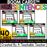 R Controlled Vowels Sentences Boom Cards™️ | Boom Cards R