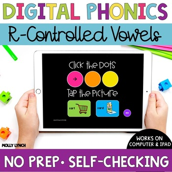 R Controlled Vowels Sound Tappers - Digital Phonics Learning {PowerPoint Games}