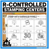 R Controlled Vowels Worksheets for Stamping Center