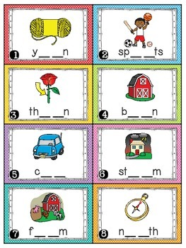 R Controlled Vowels Activities