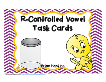 R-Controlled Vowels Task Cards