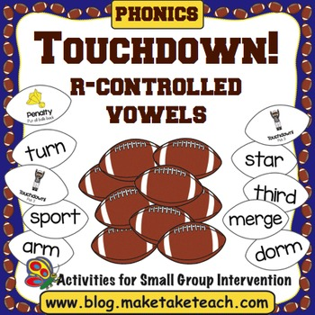 R-Controlled Vowels- Touchdown!