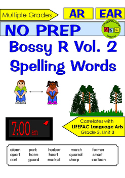 R-Controlled Vowels - Vol. 2 - Spelling Packet