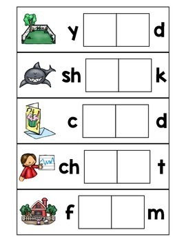 R-Controlled Vowels Word Building Cards- Differentiated Literacy Center