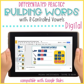 R-Controlled Vowels Word Building (Digital)