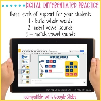 R-Controlled Vowels Word Building (Digital)