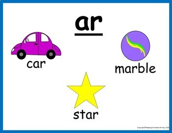 R-Controlled Vowels Word Lists