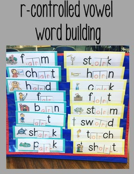 R Controlled Vowels Word Work