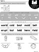 Final Consonant Blends Word Work Printables