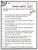 R Controlled Vowels Worksheet for Upper Grades